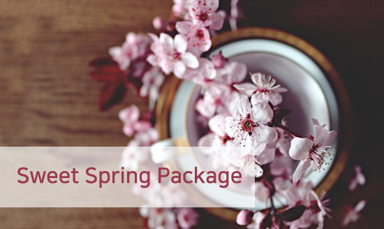 Sweet Spring Package 썸네일 이미지